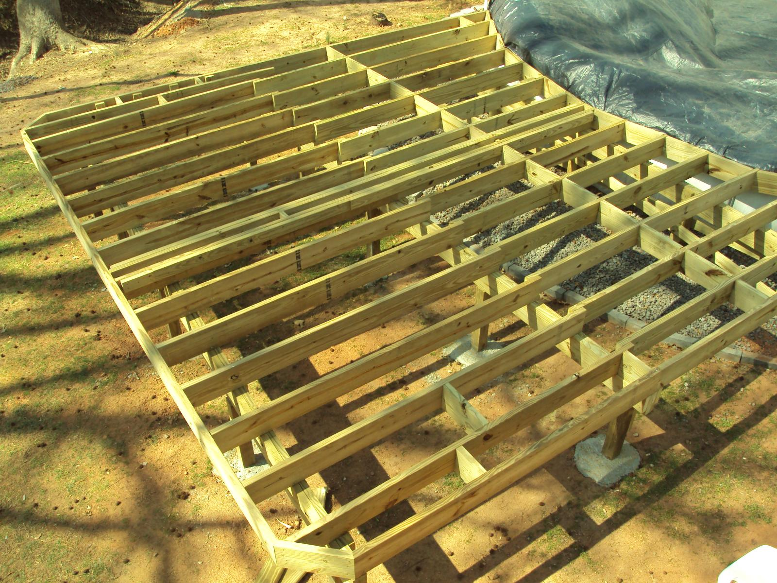 Typical Construction Simplicity Decks